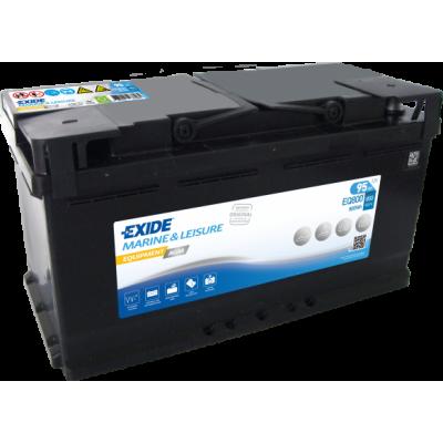 Тяговый аккумулятор EXIDE 6СТ-95 АзЕ EQUIPMENT AGM EQ800