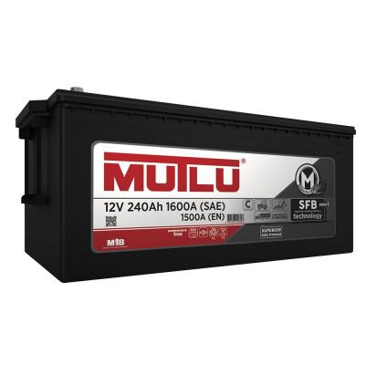 Грузовой аккумулятор Mutlu 240 3 евро