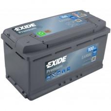 Автомобильный аккумулятор Exide 6СТ-100 Premium EA1000 2021 год
