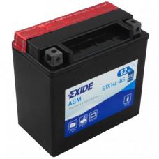 Мото аккумулятор Exide 6СТ-12 ETX14L-BS