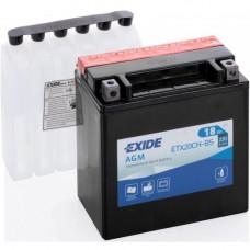 Мото аккумулятор Exide 6СТ-18 ETX20CH-BS
