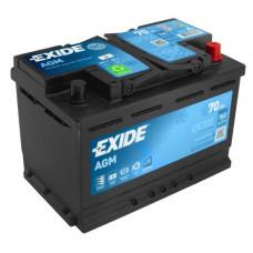Автомобильный аккумулятор Exide 6СТ-70 Start-Stop AGM EK700  2021ГОД