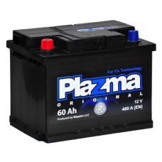 Автомобильный аккумулятор Plazma 6СТ-60 Original